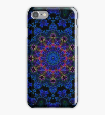 BlueClaw Fractile  iPhone Case/Skin
