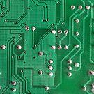 Green Circuit Board by pjwuebker