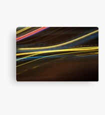 Y Blurred linese Canvas Print