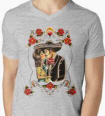 Mexican Couple Men's V-Neck T-Shirt
