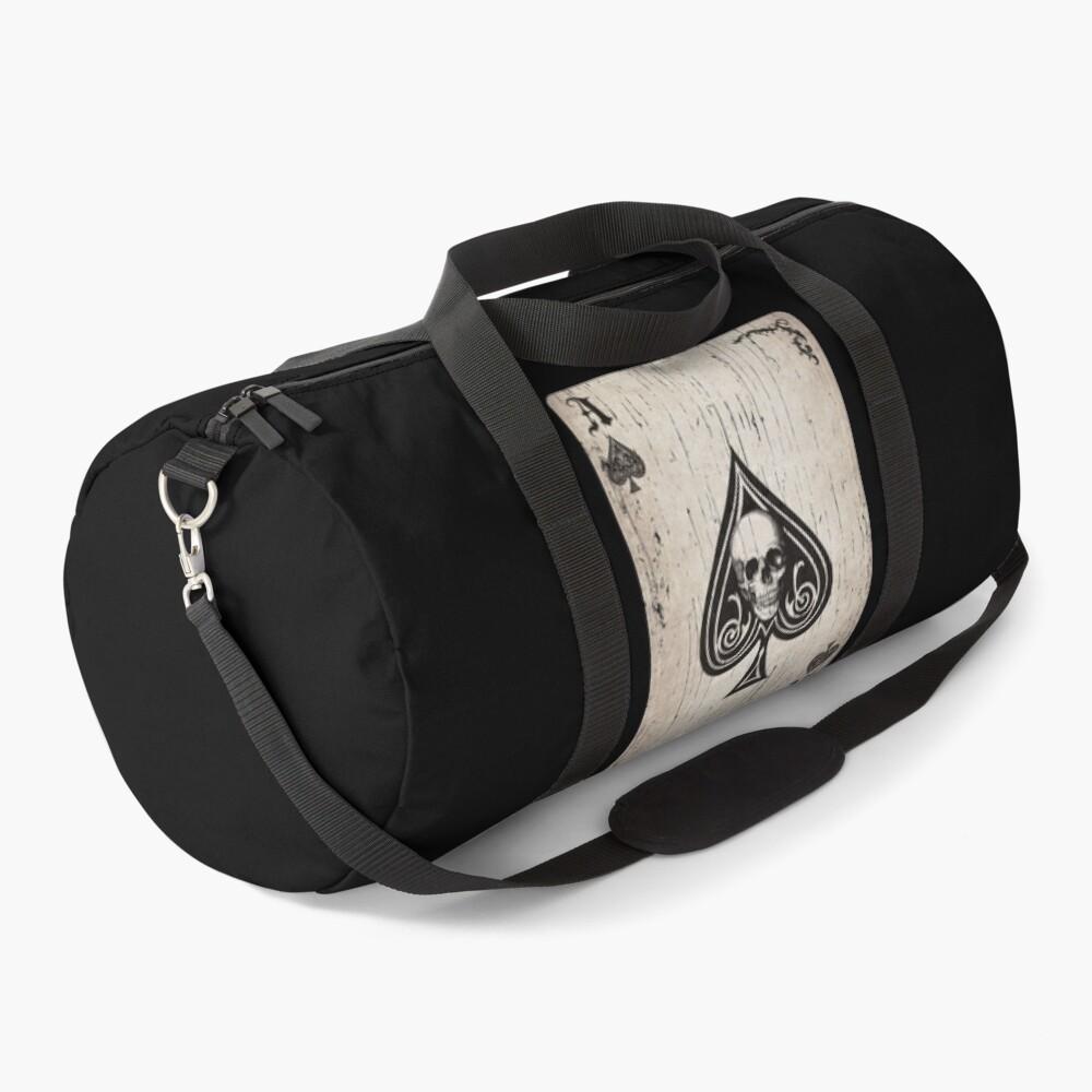 Ace of Spades Death Card Duffle Bag