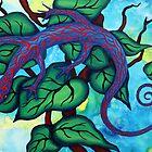 Caribbean Blue Lizard by Ann-Marie Cheung