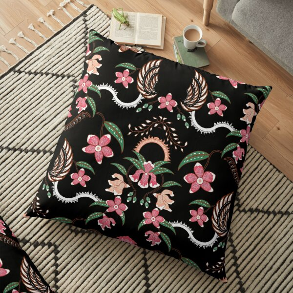 Batik Design Floor Pillow