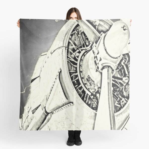Airplane abstract Scarf