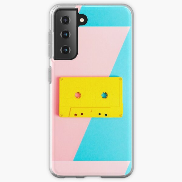 ❤️Compact Cassette  Cute Samsung Galaxy Soft Case