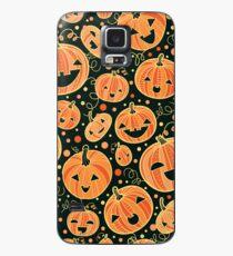 Fun Halloween pumpkins pattern Case/Skin for Samsung Galaxy