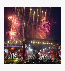 OTRA Fireworks  Photographic Print