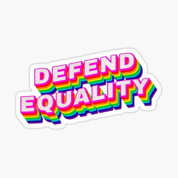 Defend Equality Sticker