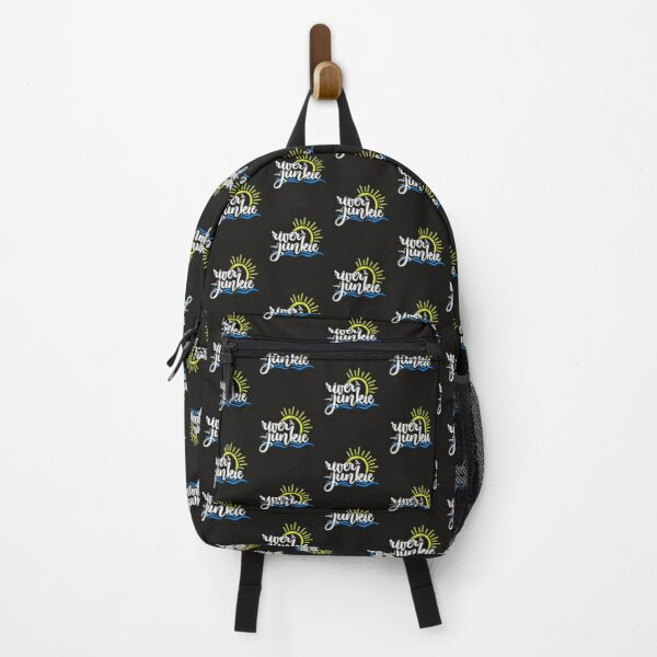 River Junkie On the River Gift Backpack