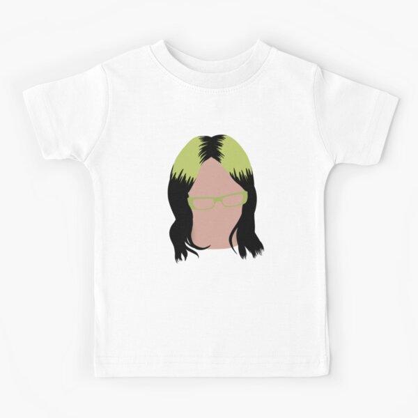 Cute Bil Sticker Drawing Camiseta para niños