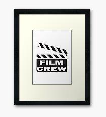 Film Crew Framed Print