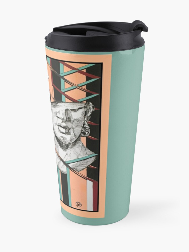 Alternate view of Art Déco 01 Travel Mug