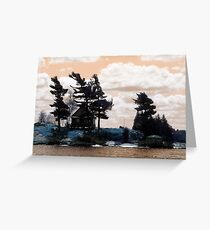 Thousand Islands Cottage Canada Greeting Card