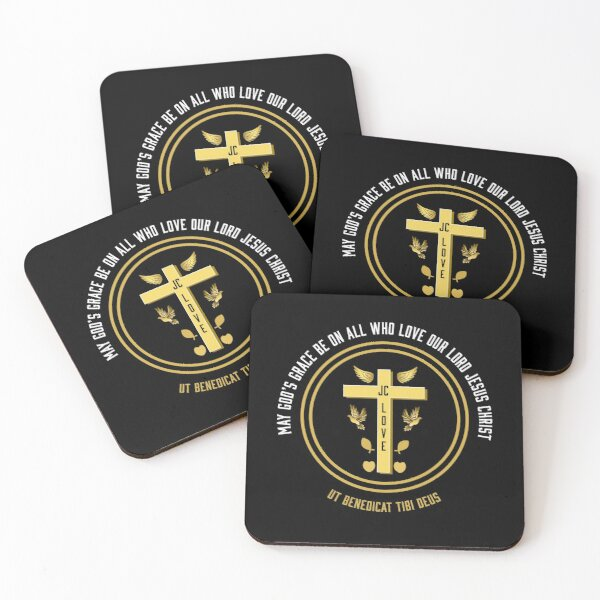 Team Jesus - Christian Bible Gifts - Jesus Christ Mugs - Team Jesus shirts t shirts - Bible Clubs - Church Gifts Coasters (Set of 4)