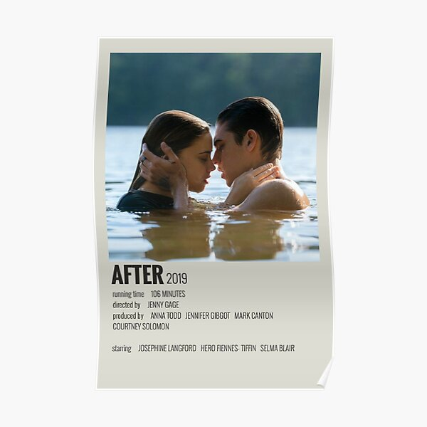 After movie Póster