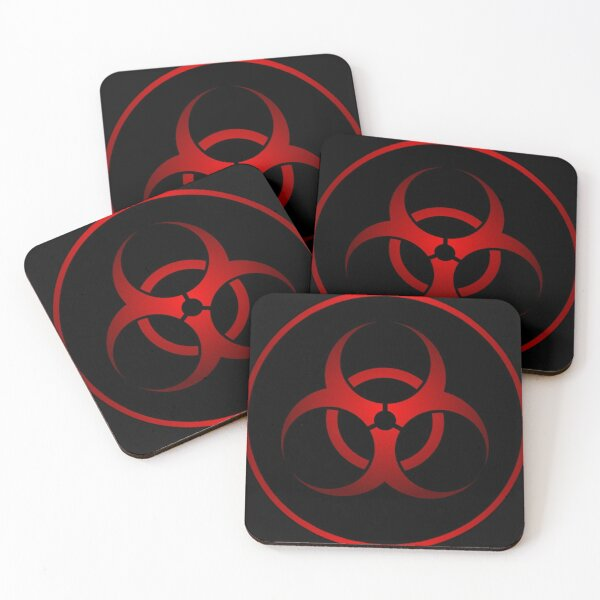 Biohazard Coasters (Set of 4)