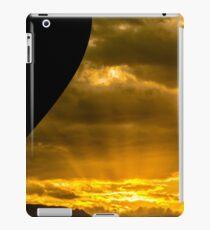 Golden Sky Balloon Drive iPad Case/Skin