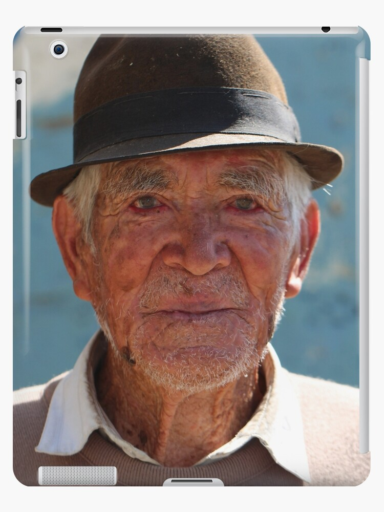 'Old Souls - Weathered Faces of the Andes' iPad Case/Skin by Cdazell
