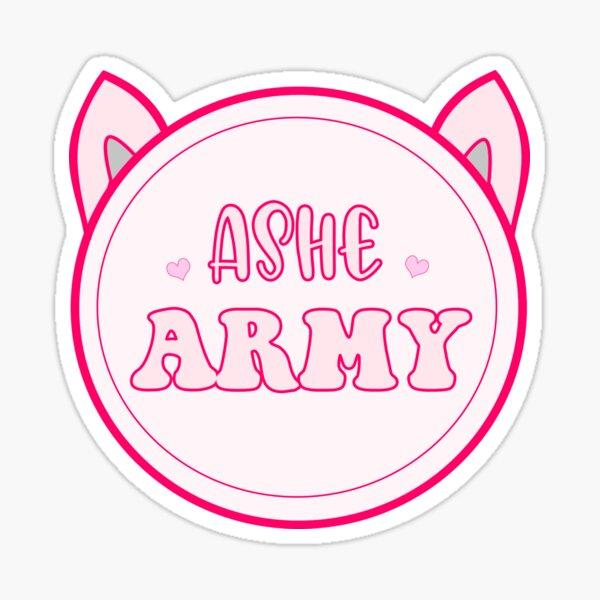 Custom sticker Ashe Army Sticker