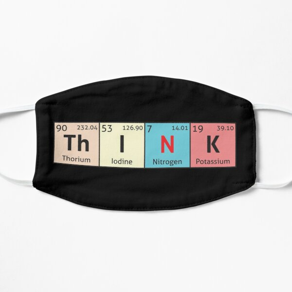Periodic Table - Think Flat Mask