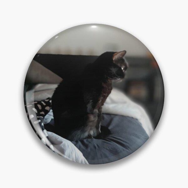 Bruja, the Magical Black Cat Pin