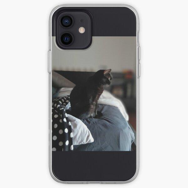 Bruja, the Magical Black Cat iPhone Soft Case