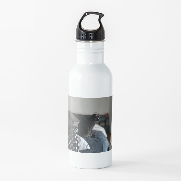 Bruja, the Magical Black Cat Water Bottle