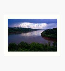 Iguazu River Art Print