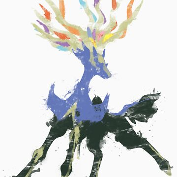 Graffiti Xerneas by niterune