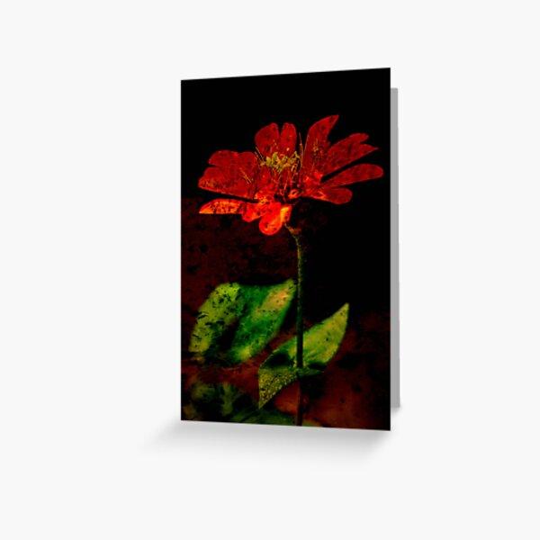 Mystic Flower Greeting Card
