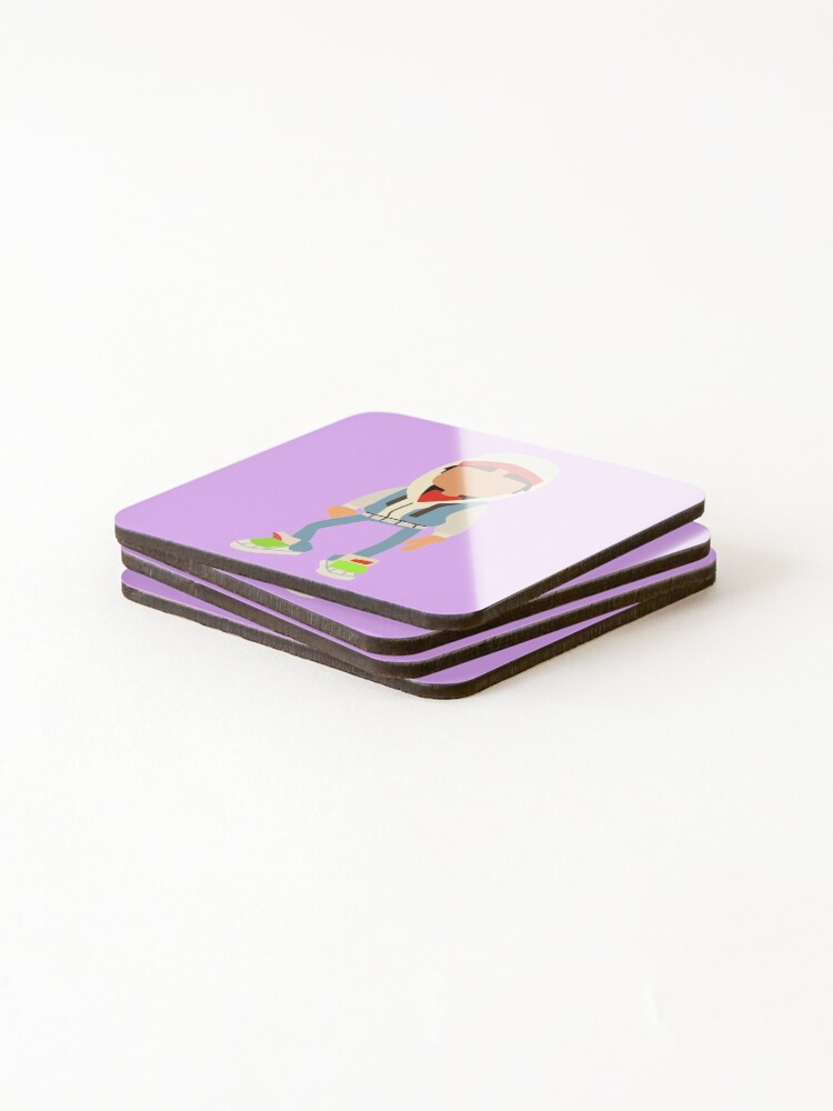 Alternate view of jake from subway  Coasters (Set of 4)
