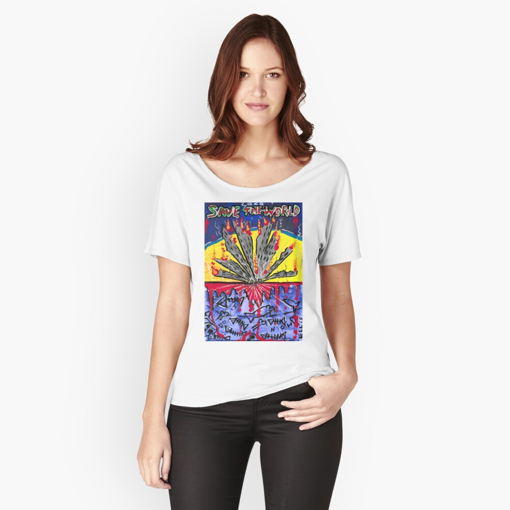 SAVE THE WORLD 2020 Relaxed Fit T-Shirt