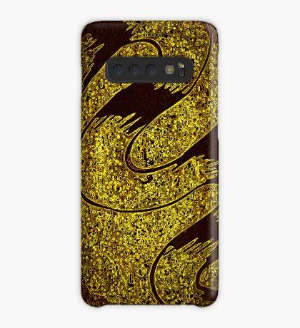 Magic Golden Flow Case/Skin for Samsung Galaxy