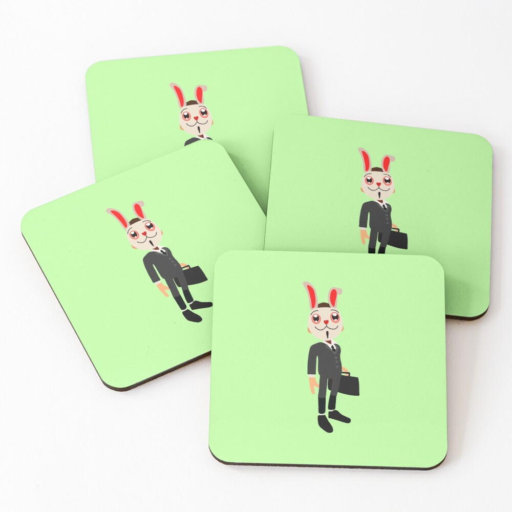 frank from subway  Coasters (Set of 4)