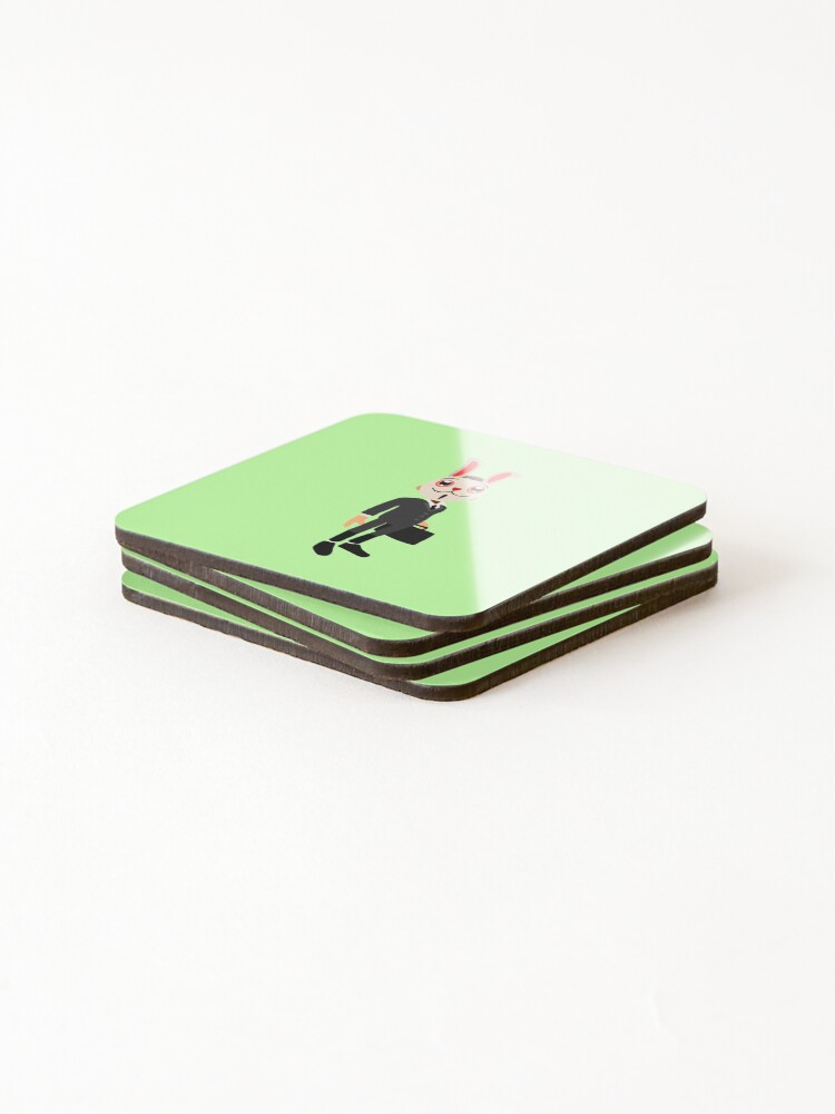 Alternate view of frank from subway  Coasters (Set of 4)
