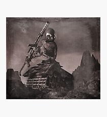 Robot Tank World War 1.5 Photographic Print