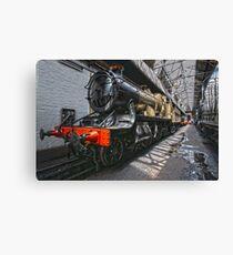 Steam Locomotive HDR II Canvas Print