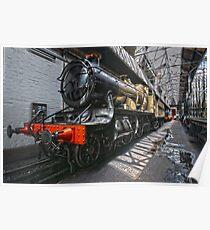Steam Locomotive HDR II Poster