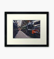 Steam Locomotive HDR III Framed Print