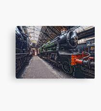 Steam Locomotive HDR III Canvas Print