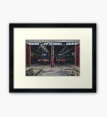 Steam Locomotive HDR IV Framed Print