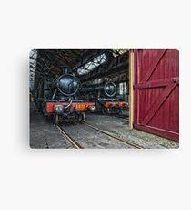 Steam Locomotive HDR V Canvas Print