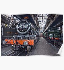 Steam Locomotive HDR VI Poster