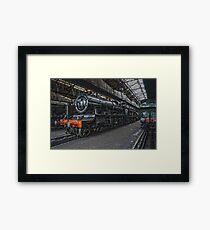 Steam Locomotive HDR VII Framed Print