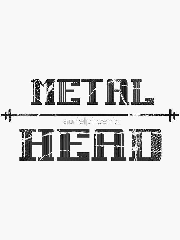 """Metalhead"" Metal in Dark Grey by aurielphoenix"