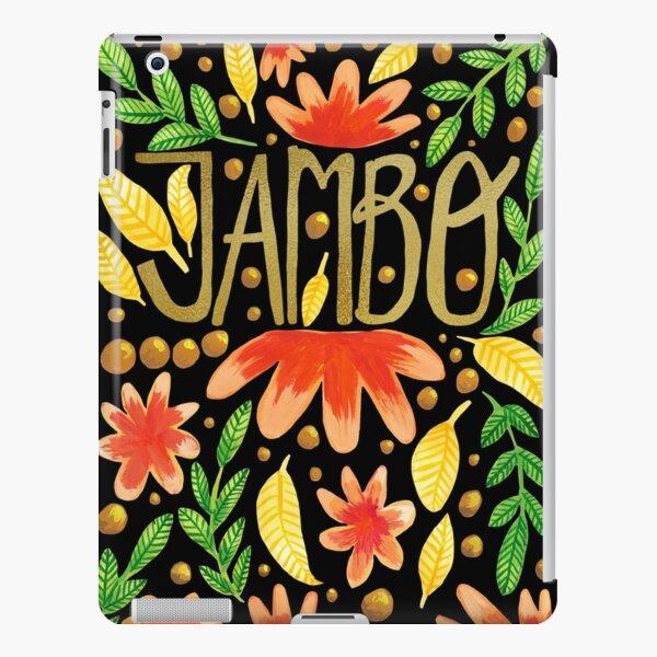 Jambo Everyone - Africa Swahili Quote iPad Snap Case