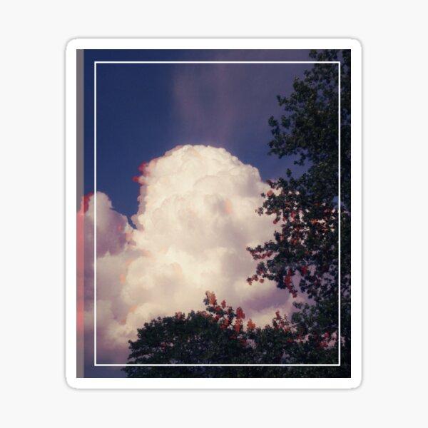 Glitching huge clouds Sticker