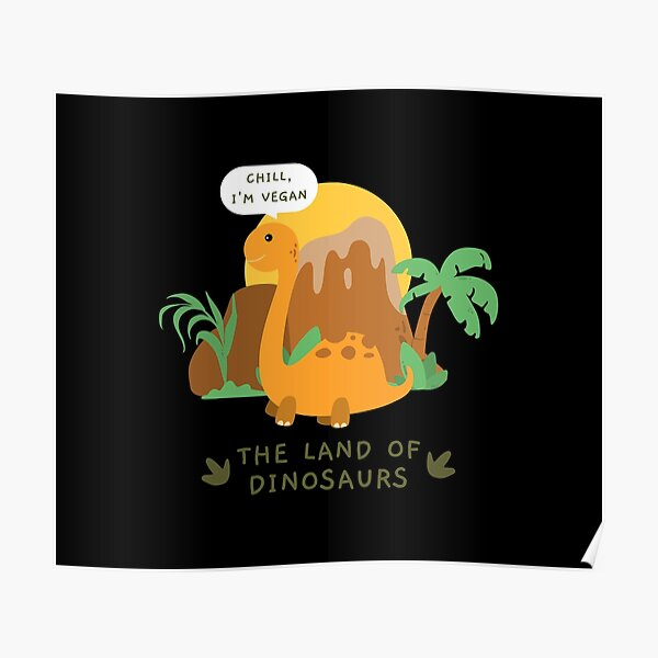 The Land Of Dinosaurs Poster