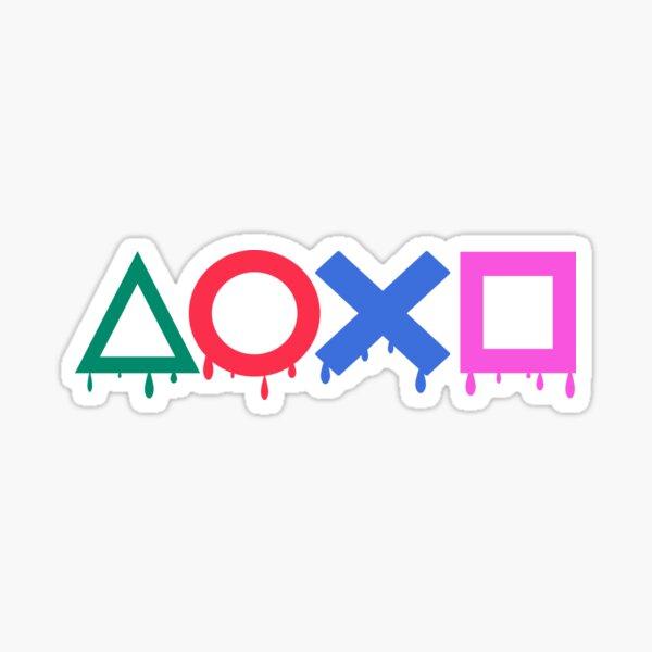 Playstation color Sticker