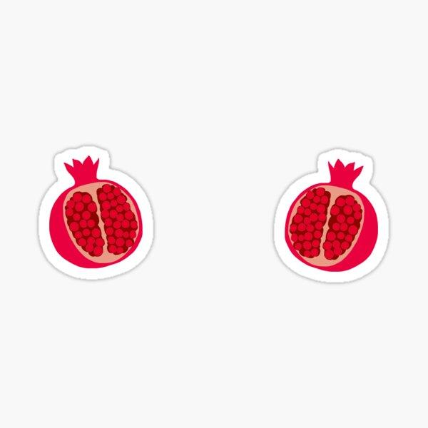 Pomegranates from belinda blinked by rocky flintstone- my dad wrote a p***o Sticker